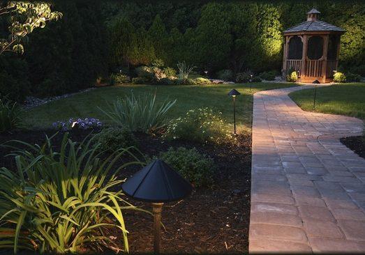 landscape lighting designer in Madison MS