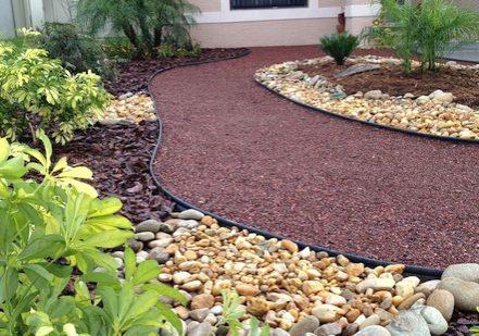 Madison MS landscape installation